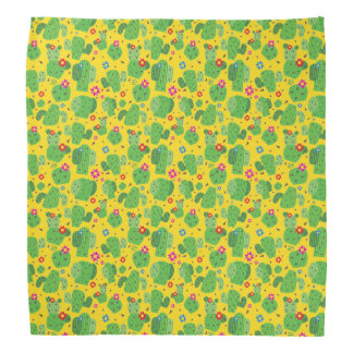 Cactus Me Outside (Yellow) - Bandana