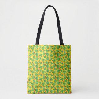 Cactus Me Outside (Yellow) - Tote Bag