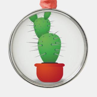 Cactus Metal Ornament