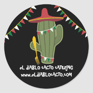 Cactus Mexican Southwestern cuisine catering Sticker