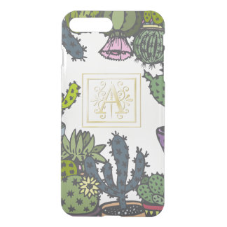 Cactus Monogram A iPhone 8 Plus/7 Plus Case
