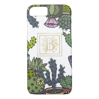 Cactus Monogram B iPhone 8/7 Case