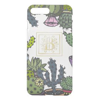 Cactus Monogram B iPhone 8 Plus/7 Plus Case