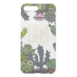 Cactus Monogram C iPhone 8 Plus/7 Plus Case