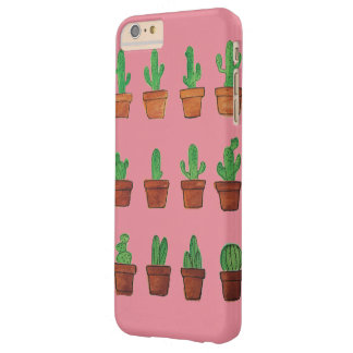 Cactus on Pink Phone Case