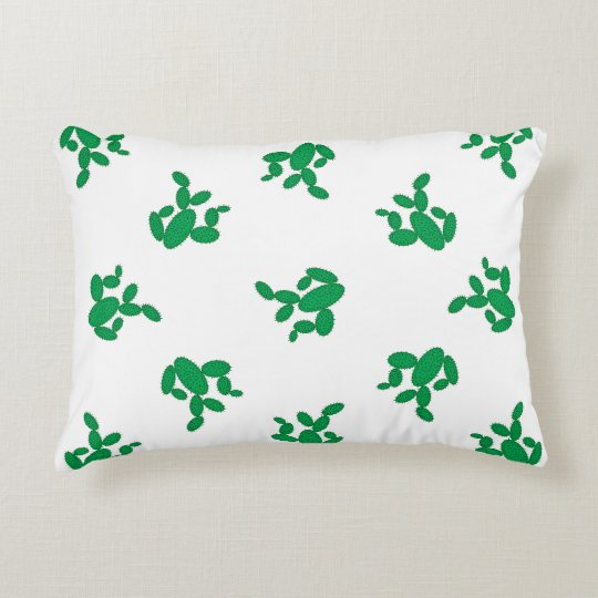 Cactus - pattern. decorative cushion