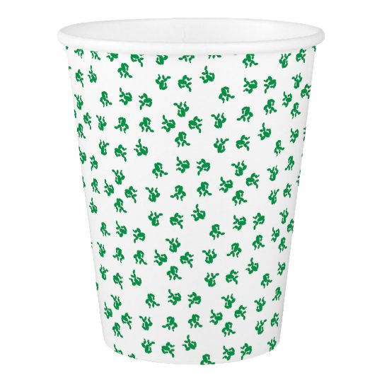 Cactus - pattern. paper cup
