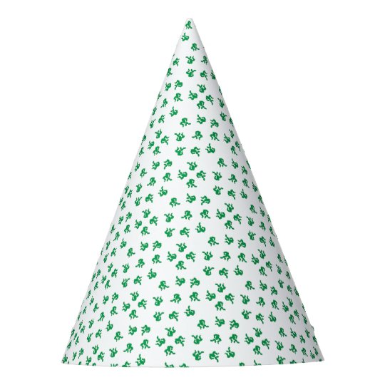 Cactus - pattern. party hat