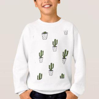 Cactus Pattern Sweatshirt