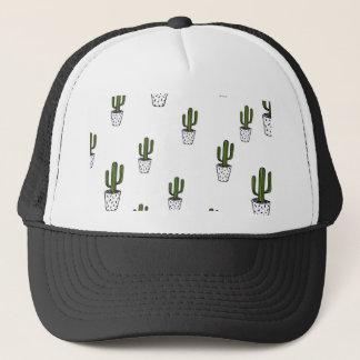 Cactus Pattern Trucker Hat