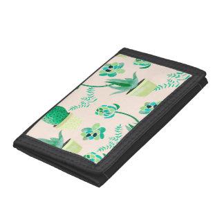 Cactus Pattern wallet