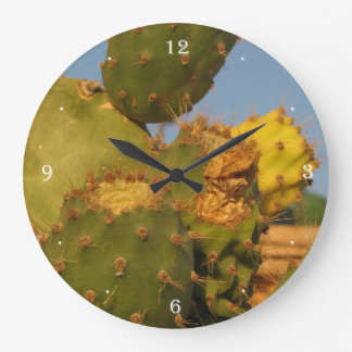 Cactus Photography Wall Clock