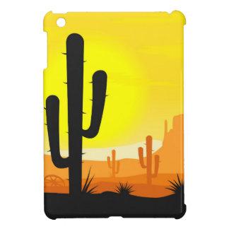 Cactus plants in desert iPad mini cover