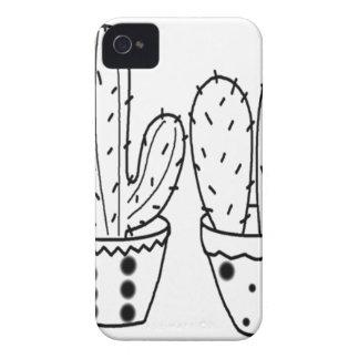 cactus pot iPhone 4 cases