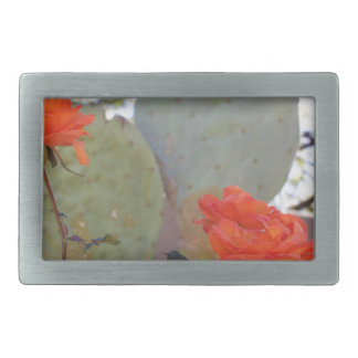 Cactus Rose Belt Buckle