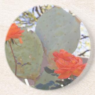 Cactus Rose Coaster