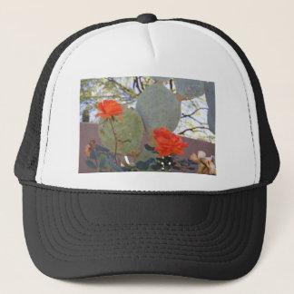 Cactus Rose Trucker Hat
