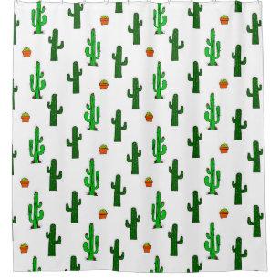 Cactus Shower Curtains