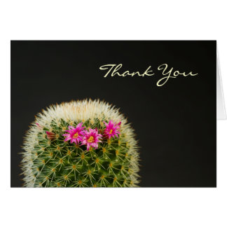 Cactus Thank You Card