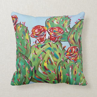 "Cactus Throw Pillow, Throw Pillow 16"" x 16"""