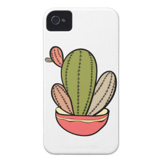 Cactus vector illustration. Hand drawn. Cactus pla iPhone 4 Cover