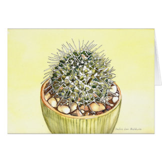 Cactus Watercolor by Debra Lee Baldwin Card