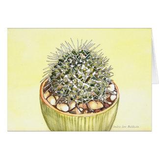 Cactus Watercolor by Debra Lee Baldwin Note Card