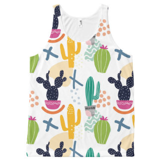 Cactus woman All-Over print singlet