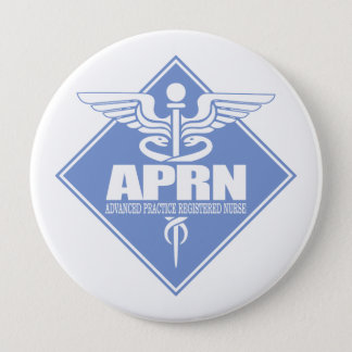 Cad APRN (diamond) 10 Cm Round Badge