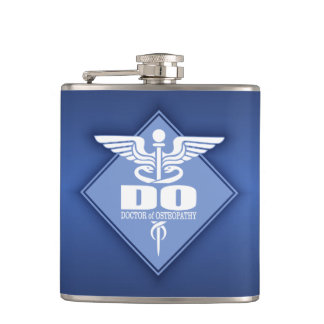 Cad DO (diamond) Hip Flask