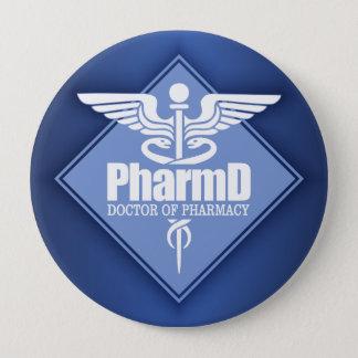 Cad PharmD (diamond) 10 Cm Round Badge