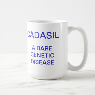 CADASIL, A RARE GENETIC DISEASE COFFEE MUG