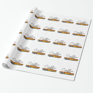 Caddy Custom Sunrise Wrapping Paper
