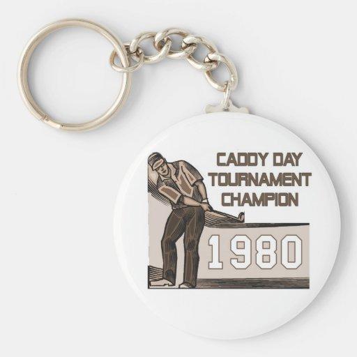 Caddy Day Tournament Champion Key Chain