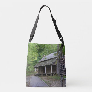 Cades Cove Cabin Crossbody Bag