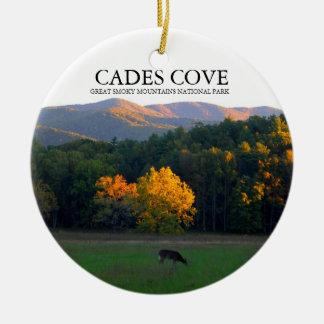 Cades Cove - Deer Widlife - Christmas Ornament