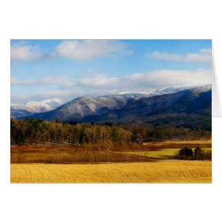 Cades Cove Great Smoky Mountains Notecard
