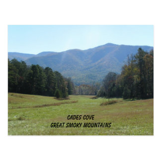 Cades Cove, Great Smoky Mountains Postcard