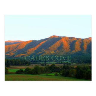 Cades Cove Overlook Postcard