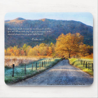 Cades Cove - Path of Life Mouse Pad