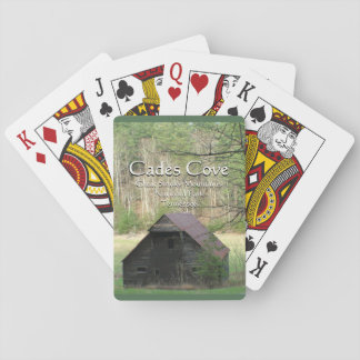 Cades Cove Playing Cards