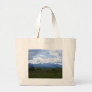 Cades Cove Sky Large Tote Bag
