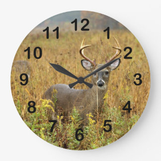 Cades Cove Whitetail Buck Wall Clock