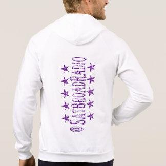 CADET AVIATOR'S @SATBROADRADIO - Purple-Blue Hoodie