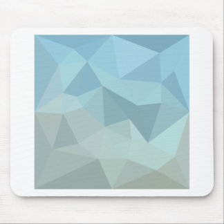 Cadet Blue Orange Abstract Low Polygon Background Mouse Pad