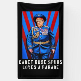 Cadet Bone Spurs - Trump Caricature Banner