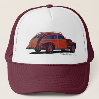 Cadillac 1941 Station Wagon / Woody Trucker Hat