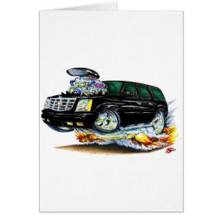Cadillac Escalade Black Truck Card