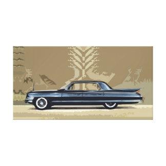 Cadillac Fleetwood Sixty-Special 1961 Canvas Print
