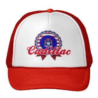 Cadillac MI Mesh Hats